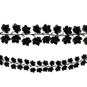 Black Leaf Garland