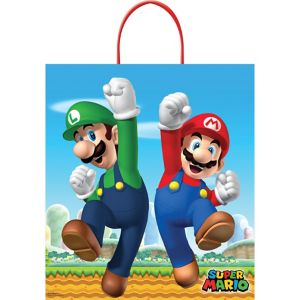 Super Mario Trick or Treat Bag
