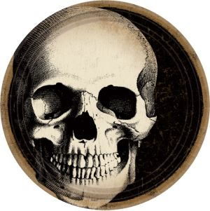 Boneyard Skull Lunch Plates 60ct