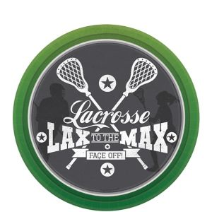 Lacrosse Dessert Plates 8ct