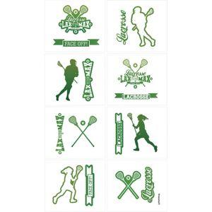 Lacrosse Tattoos 1 Sheet