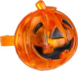 Light-Up Jack-o'-Lantern Ring