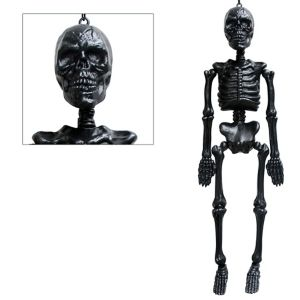 Black Hanging Skeleton