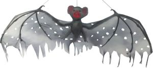 Hanging Gray Vampire Bat