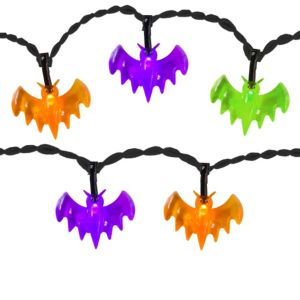 Mini bat string lights