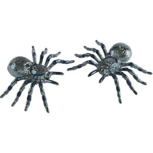 Gun Powder Gray Spiders 2ct