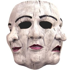 Three Face Theater Mask