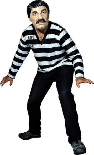 El Capo Inmate Costume Kit 2pc