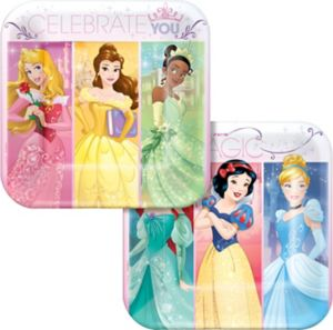 Disney Princess Dessert Plates 8ct