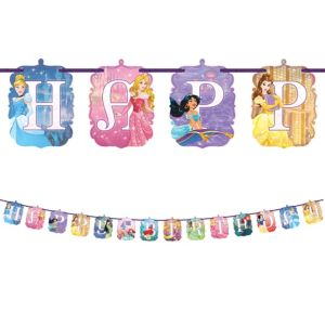 Disney Princess Birthday Banner Kit