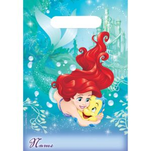 Little Mermaid Favor Bags 8ct