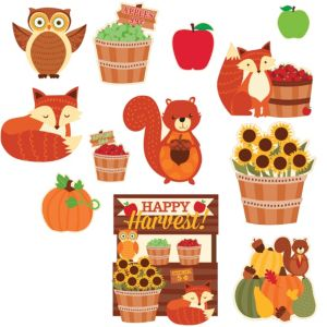 Welcome Fall Cutouts 12ct