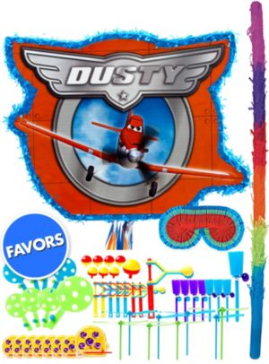 Dusty Pinata Kit with Favors - Planes