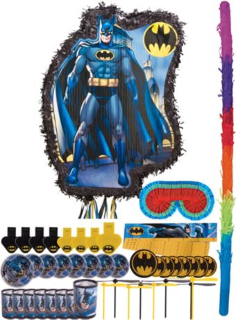 Comic Batman Pinata Kit with Favors