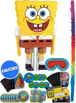 SpongeBob Pinata Kit with Favors