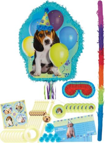Party Pups Pinata Kit with Favors