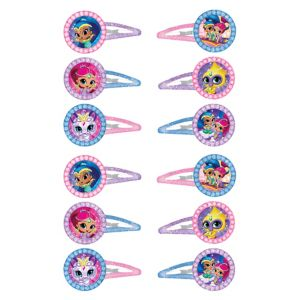 Shimmer and Shine Hair Clips 12ct