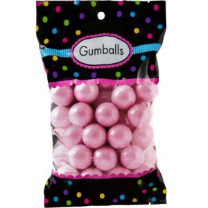Light Pink Gumballs 48pc