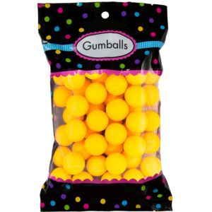Yellow Gumballs 48pc