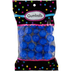 Royal Blue Gumballs 48pc