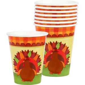 Turkey Dinner Cups 18ct
