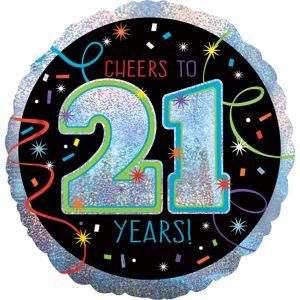 Brilliant 21st Birthday Balloon