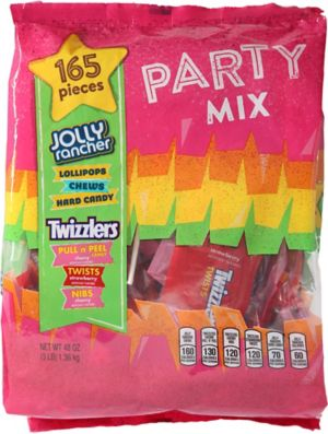 Jolly Rancher & Twizzlers Variety Mix 165ct