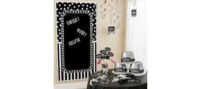 Black & White Photo Booth Kit