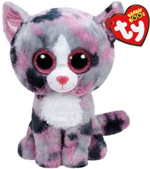 Lindi Beanie Boo Cat Plush