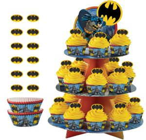 Deluxe Batman Cupcake Kit for 24