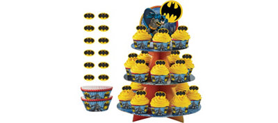 Batman Cupcake Kit for 24