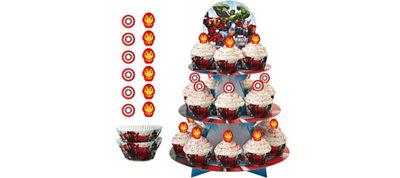 Avengers Cupcake Kit for 24