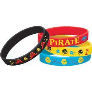 Little Pirate Wristbands 4ct