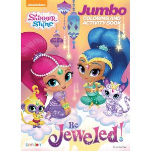 Shimmer and Shine Coloring & Activity Book