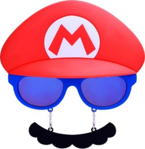 Mario Sun-Staches - Super Mario Brothers