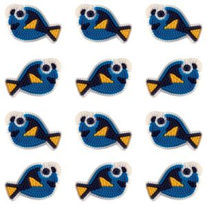 Finding Dory Icing Decorations 12ct