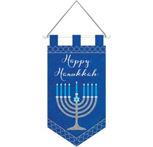 Felt Happy Hanukkah Sign