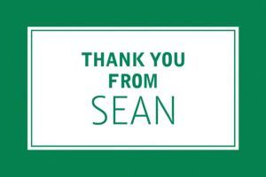 Custom Classic Green Graduation Thank You Note