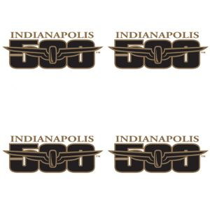 Indy 500 Tattoos 4ct