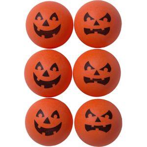 Jack-o'-Lantern Pong Balls 6ct