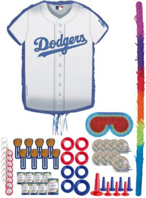 Los Angeles Dodgers Pinata Kit with Favors