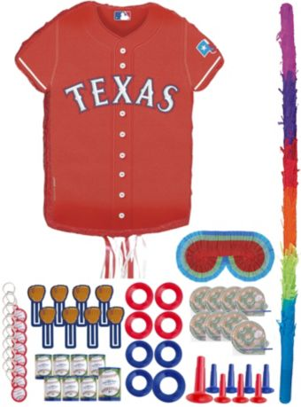 Texas Rangers Pinata Kit with Favors