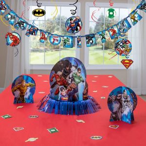 Justice League Decorating Kit