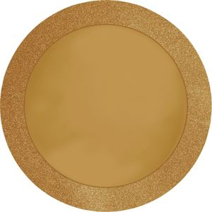 Glitter Gold Placemats 8ct