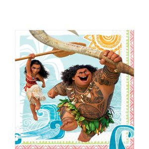 Moana Lunch Napkins 16ct