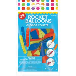 Rocket Balloons 40ct