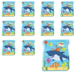 Under the Sea Birthday Notepads 48ct