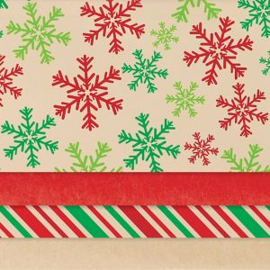 Kraft Holiday Tissue Paper 30ct