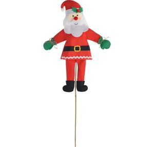 Friendly Santa Yard Stake