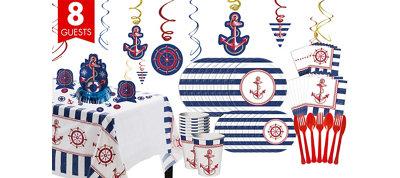 Nautical Super Party Kit